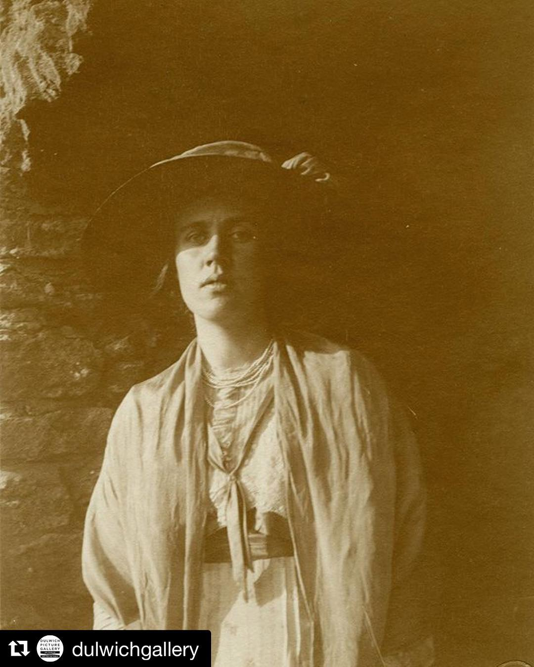Now showing dulwichgallery VANESSA BELL The sister of Virginia Woolfhellip