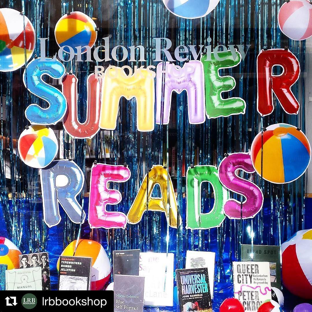 Regram lrbbookshop  Swimming pool vibes in our summer readshellip